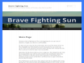Brave Fighting Sun - Brave Fighting Sun (Book 1)