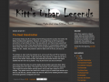 Kitt's Urban Legends