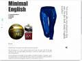 Minimal English