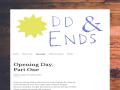 Odd & Ends